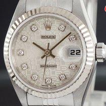 ロレックス (Rolex) デイトジャスト コンピューター 10P ダイヤ 79174G Datejust Silver...