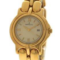 Bertolucci Pulchra Vintage, Ivory Dial - Yellow Gold on Bracelet