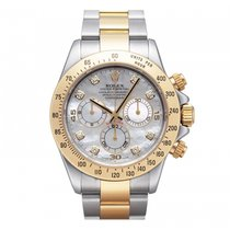 Rolex Cosmograph Daytona 40mm Stainless Steel and 18KYG 116523...
