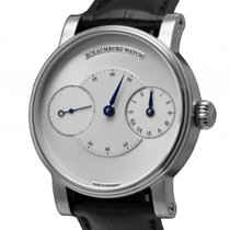 Schaumburg Watch Trible White Bridge Handaufzug 42mm