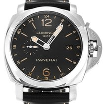 Panerai PAM00531 Luminor Automatic Black Dial Mens Black...