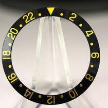 Rolex Inlay für GMT 16758 Seriph font Schwarz-Gold