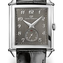 Girard Perregaux VINTAGE 1945 SMALL SECONDS Steel Dial Grey...