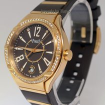 Piaget Polo FortyFive Ladies 18k Rose Gold & Diamond Watch...