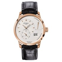 Glashütte Original Men's 1-65-01-25-15-04 PanoReserve Red...
