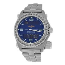 Breitling Men's Emergency E56321 Multifunction Quartz 43MM