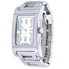 Bulgari Ladies  Rettangolo Stainless Steel Automatic Watch RT...