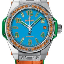 Hublot Big Bang One Click 39mm 465.so.5179.lr.1206.pop16 ORANGE