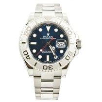 롤렉스 (Rolex) Rolex  40mm Yachtmaster Newstyle Watch 116622 Blue...