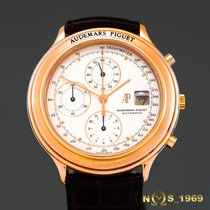 Audemars Piguet Huitieme Chronograph 18K Rose Gold Automatic Box