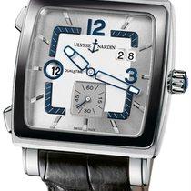Ulysse Nardin Quadrato Dual Time 243-92cer/601 Stainless Steel...