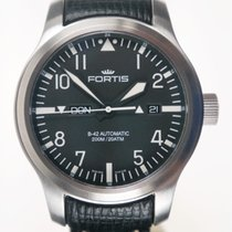 Fortis B-42 Automatik Flieger Day/Date Stahl 42mm