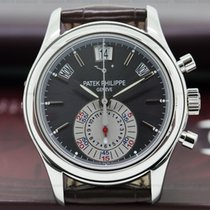 Patek Philippe 5960P Annual Calendar Chronograph Platinum Grey...