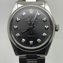 Rolex AIRKING 34MM AUTOMATIC GREY DIAMONDS DIAL