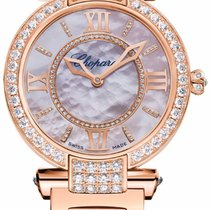 Chopard Imperiale 18K Rose Gold & Diamonds Ladies Watch