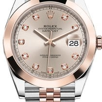 Rolex Unworn 126301SUDJ Datejust 41mm in Steel and Rose Gold...