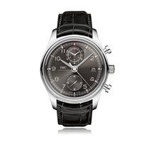 IWC Schaffhausen Portugieser Chronograph Classic Mens Watch...