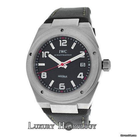 iwc schaffhausen ingenieur mercedes amg iw322703 3227 for 3 295 for sale from a trusted seller. Black Bedroom Furniture Sets. Home Design Ideas