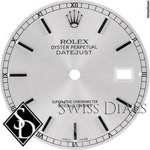 Rolex Datejust Silver Stick Marker Swiss Made Dial SS
