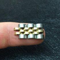 Rolex lucida Datejust date Link lady maglia  oro Gold president