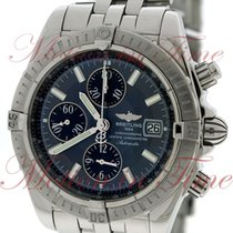 Breitling Windrider Chronomat Evolution Chronograph, Black...