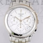 Longines Flagship Chronograph white Dial Date Steel 39mm Dress...