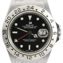 "롤렉스 (Rolex) Explorer II Men's ""No Holes"" Steel..."