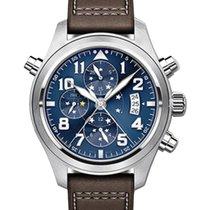 IWC Schaffhausen IW371807 Pilot's Watch Double Chronograph...