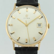 Cyma Vintage Manual Winding 18k Gold
