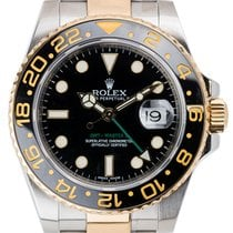 Rolex GMT-Master II Stainless Steel and Yellow Gold Black/Inde...