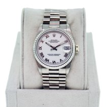 Rolex Datejust 68279 Midsize Presidential 18K  Gold Watch