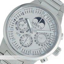 IWC GST Chronograph Ewiger Kalender Mondphase Stahl 3756