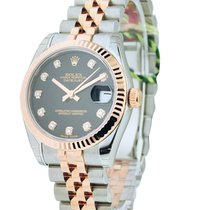Rolex Unworn 179171 Ladys Datejust RG and SS 179171 - Fluted...
