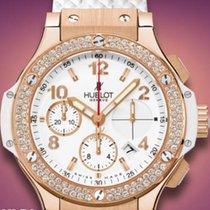 Hublot DIAMONDS STRAP RUBBER WHITE BIG BANG 341PE2010RW1104