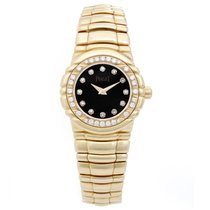 Piaget Ladies Piaget Tanagra 18K Yellow Gold Diamond Watch