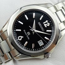 Seiko Grand Seiko Quartz SBGX035 -Black Dial