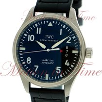 IWC Pilot's Mark XVII Triple Date, Black Dial - Stainless...