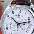 Longines Men's Master Collection Chronograph Steel on...