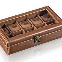 Designhütte Uhrenbox Camel für 10 Uhren 70005/133