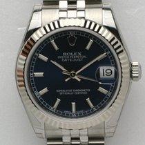 Rolex Datejust, Ref. 178274 - schwarz Index Zifferblatt/Jubileeb.