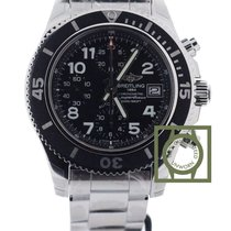 Breitling Superocean Chronograph 42mm Black Dial NEW