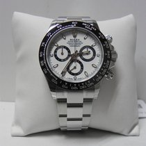 Rolex Cosmograph Daytona 116500 ceramic and steel white dial