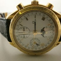 Omega Speedmaster 18k Triple Date Moonphase Chronograph...