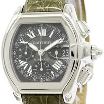 Cartier Polished Cartier Roadster Chronograph Steel Automatic...
