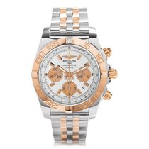 Breitling Chronomat 44 Steel And Rose Gold Calibre 01 Automati...