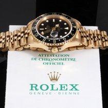 Rolex GMT-Master II 16758, Black Dial, Jubilee w/ Box  &...