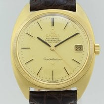 Omega Collectors Vintage Constellation 18K solid  Gold Automa