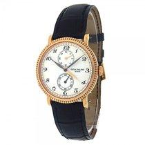 Patek Philippe Travel Time 5034R 18k Rose Gold Leather...