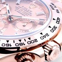 Rolex 18K Everose Daytona Factory Diamond Dial - Unworn BNP
