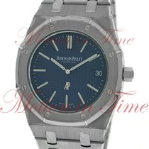 Audemars Piguet Royal Oak Automatic Extra-Thin, Blue Dial -...